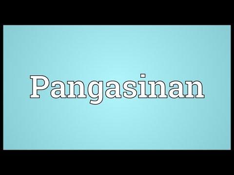Pangasinan Meaning