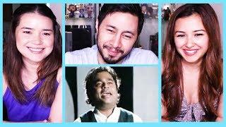 TAMIL SEMMOZHI MANADU ANTHEM | A.R. Rahman | Reaction by Jaby, Achara & Leanna!