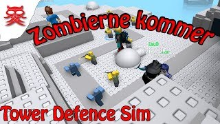 Zombies coming-Tower Defence Sim-English Roblox