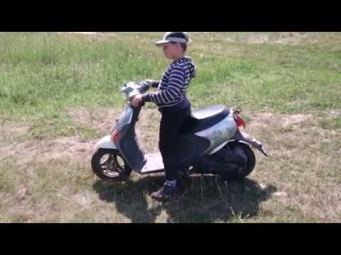 видео: Обзор скутера suzuki lets 4