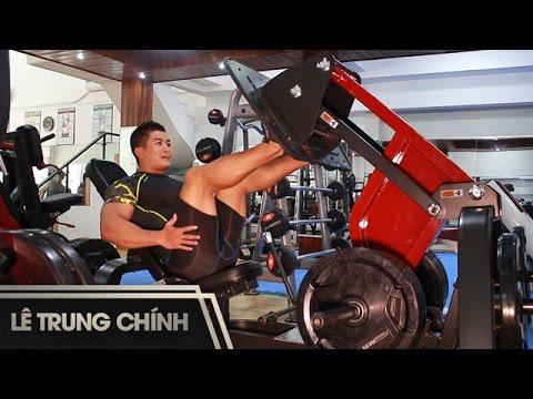 Bài Tập Cơ chân mông – Legs Workout – Lê Trung Chính [Official]