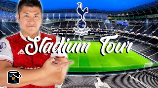 ⚽ Tottenham Hotspur Stadium Tour - New White Hart Lane ... in an Arsenal shirt