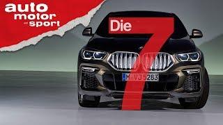 Leuchtende Niere: 7 Fakten zum neuen BMW X6, die nicht jedem gefallen werden | auto motor & sport