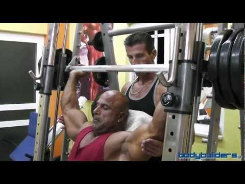 Shoulders Training & Full Workout With IFBB Pro Michael Kefalianos