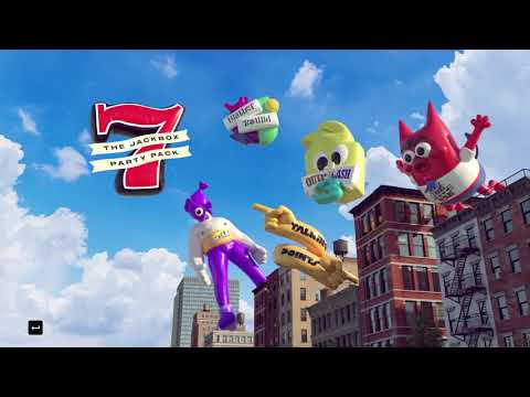 Jackin' it with friends Ep. 01: The Jack Box Party Pack 7 Gameplay |