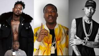 "Meek Mill Trolls 21 Savage After 21 Posted Drake Lyric Taking A Shot At Tyga ""S/o All My Boss"""