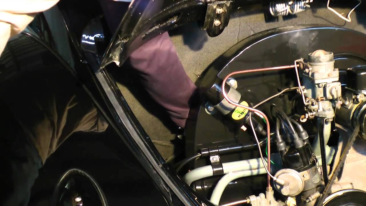 medium resolution of classic vw beetle bugs how to remove your vintage beetle type 1 engine c vallone youtube