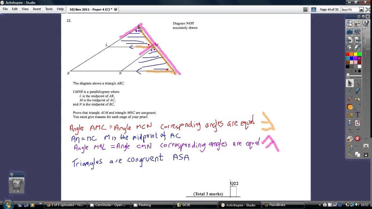 Student Room  Mock Set  Mark Scheme Maths