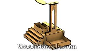 Halloween Guillotine Serving Tray: 3d Animation (720hd)