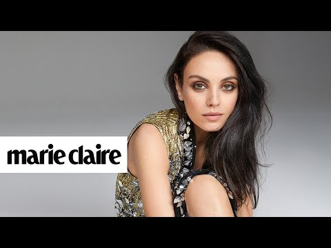 Mila Kunis | Behind the Scenes | Marie Claire