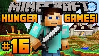 "Minecraft HUNGER GAMES - w/ Ali-A #16! - ""EPIC 48 PLAYER GAME!"""