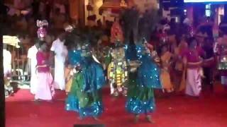 Singapore DEEPAVALI UTSAV Parade - Multi-Cultural Performanc