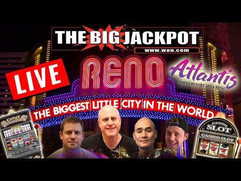 💰 Live High Limit Slot Play 💸 Atlantis Casino Resort and Spa Reno 💵