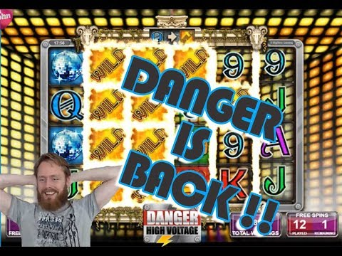 Danger High Voltage BIG WIN. Danger is back!