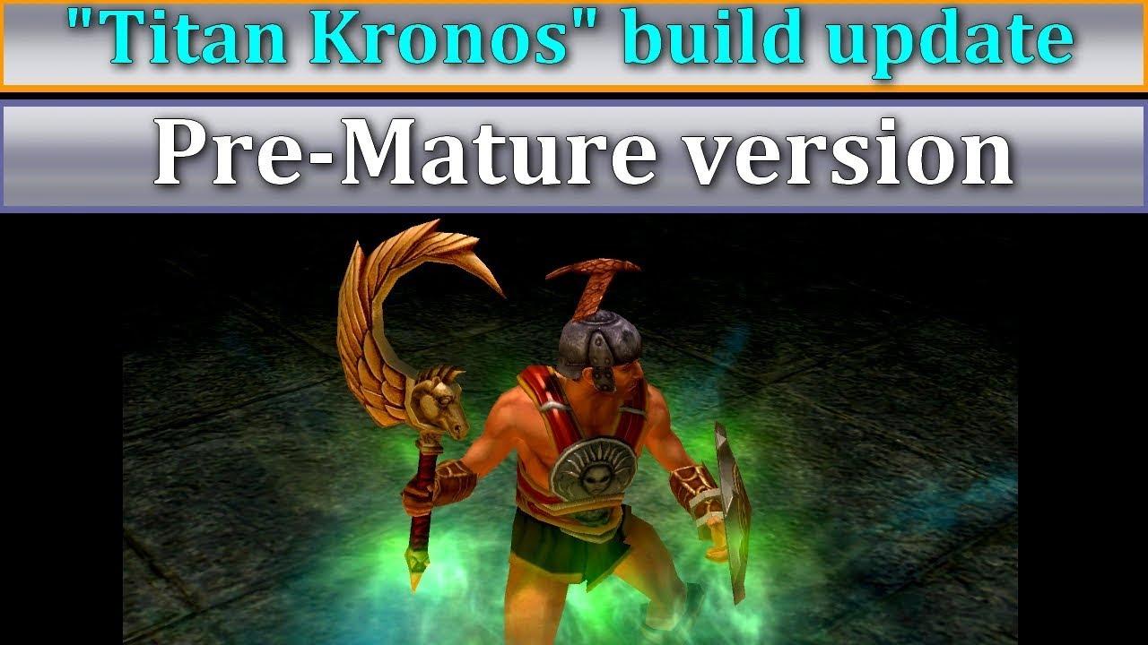 Titan Quest Anniversary Titan Kronos build part 7