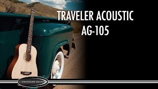 Traveler Guitar Traveler Acoustic AG-105 Product Overview
