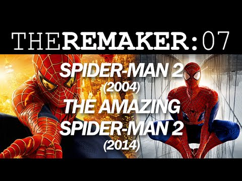 The remaker spider man 2 2004 vs the amazing spider for Domon man 2004