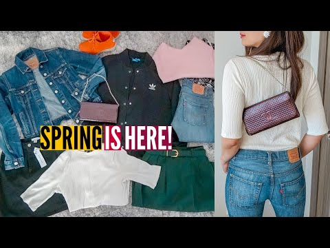 THRIFT HAUL FOR SPRING GETAWAY OUTFITS // Nat And Max