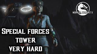 Mortal kombat XL Sonya Special Forces Klassic Tower on very hard