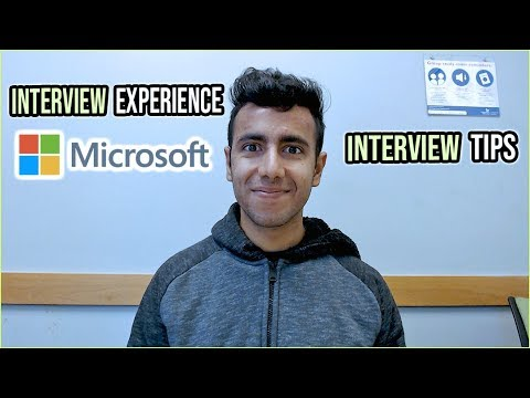 Microsoft Interview Experience Software Engineering Internship