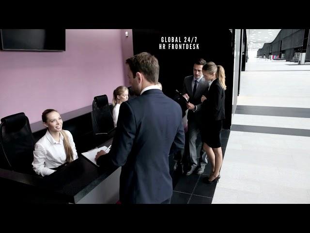 global human resources front desk