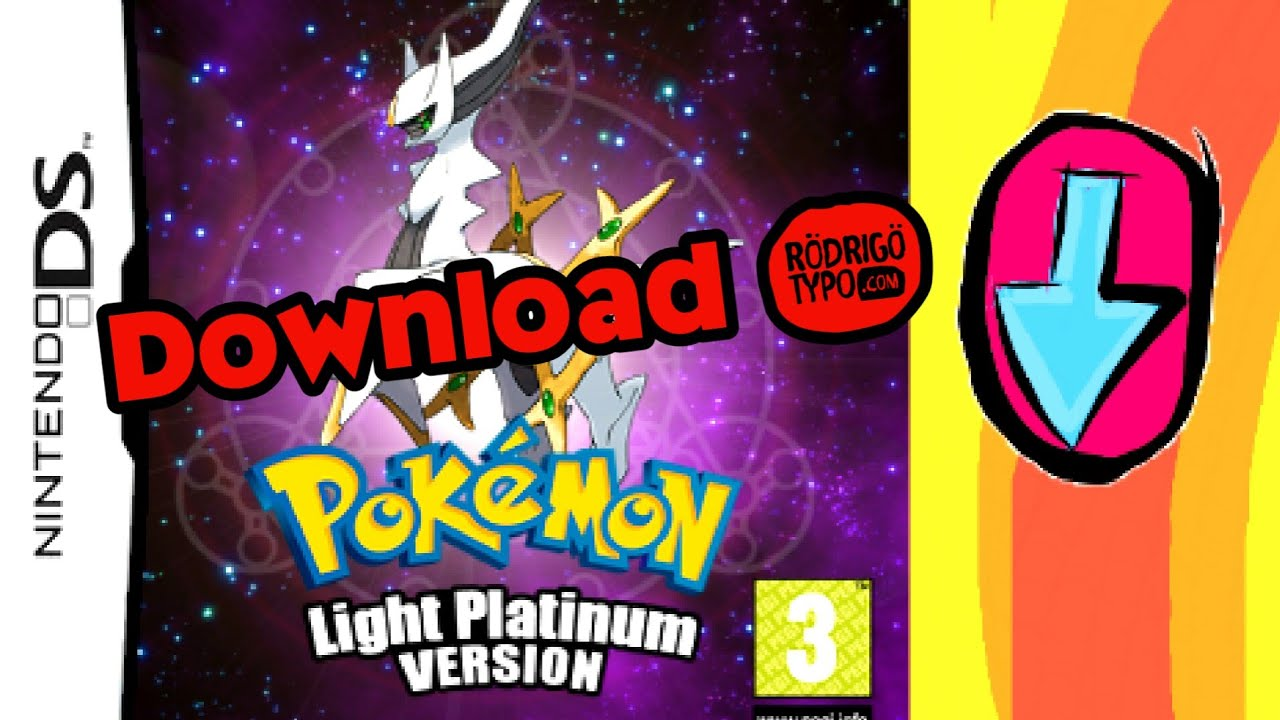 Pokemon Light Platinum Hack Nds Download Youtube