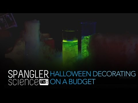 Halloween Decorating on a Budget - Cool Science Experiment