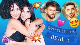 Nathanya et Anissa (LMvsMonde4) : Qui est le plus beau ? Anthony Alcaraz ? Illan ? Sebydaddy ?