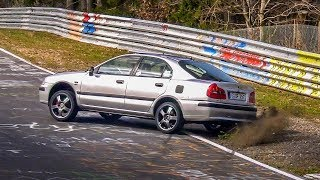 Nordschleife 31 03 2019 Highlights, Fails Spins & Near Crashes! - Touristenfahrten Nürburgring