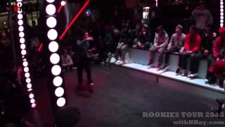 Bboy shinobi (rivers,ill villins) / Recap / Rookie