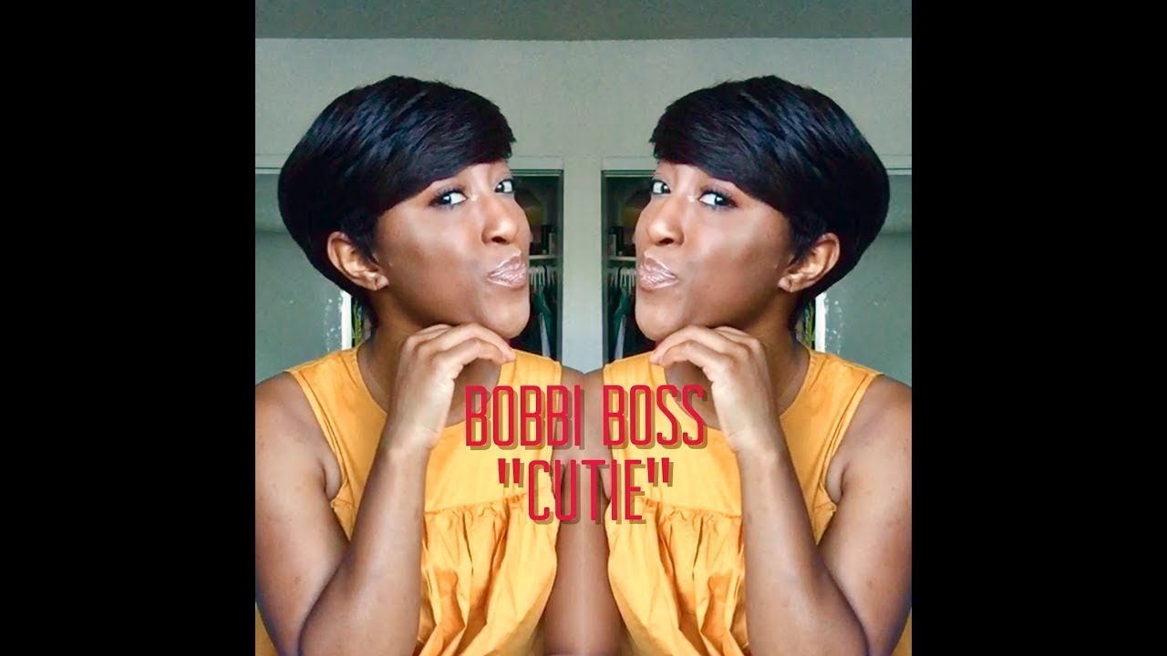 Sexy Military Pixie Cut Bobbi Boss Mh1212 Cutie Youtube