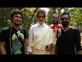 Papon & Amitabh Bacchan shooting for Namami Brahmaputra Theme Song (Glimpse)