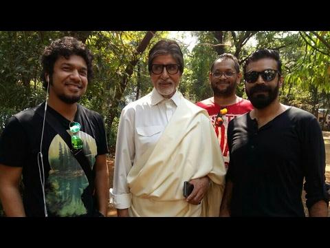Papon & Amitabh Bacchan shooting for Namami Brahmaputra Theme Song (Glimpse)