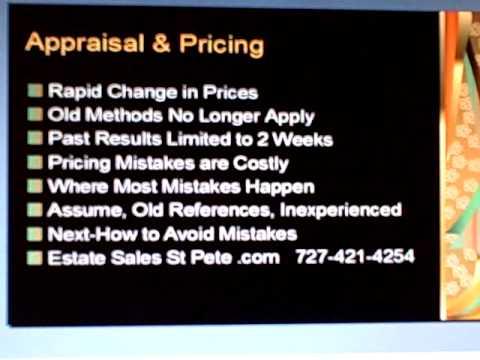 estate sales st petersburg video