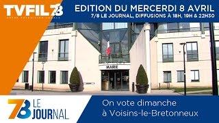 7/8 Le Journal – Edition du mercredi 8 avril 2015