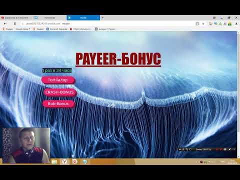 Заработать на PAYEER + БОНУС  100% ХАЛЯВА