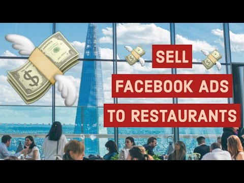 💵 Sell Facebook Ads to Restaurants 💵 Digital Social Media Marketing Agency in Restaurant Niche 💵