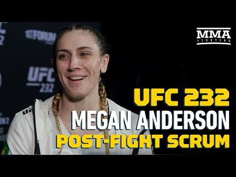 UFC 232: Megan Anderson Says She'd Fight Cat Zingano Again To Prove Herself – MMA Fighting