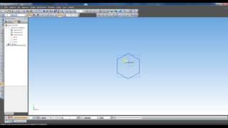 Урок в КОМПАС 3D. Правильная пирамида.