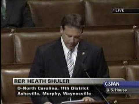 Rep. Heath Shuler the Shuler Amendment to the Head Start Act