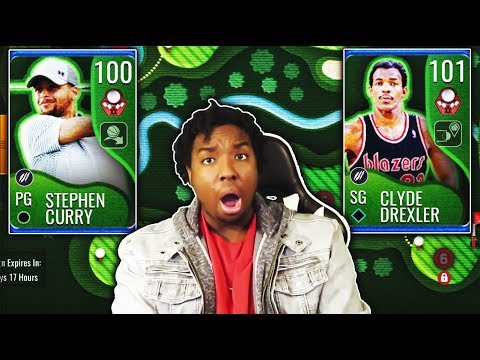 RIPPING OPEN TONS OF PACKS FOR NBA MASTERS STEPH CURRY IN NBA LIVE MOBILE 19!!!
