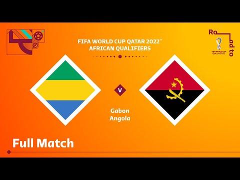 Gabon v Angola | FIFA World Cup Qatar 2022 Qualifier | Full Match