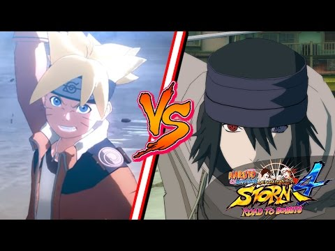Naruto Ultimate Ninja Storm 4: BORUTO VS SASUKE  ‹ Ine ›