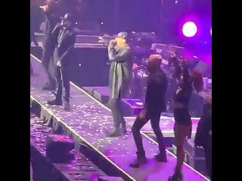 A brusca caída do cantante Wisin en pleno concerto
