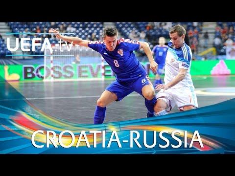 Futsal EURO Highlights: Superb volley helps Russia pip Croatia