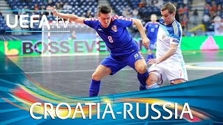 Futsal EURO Highlights: Superb volley helps Russia pip Croatia