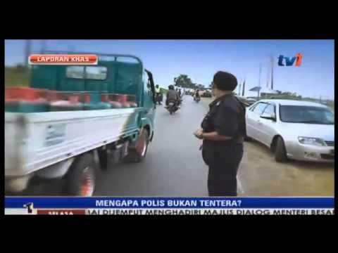 Lahad Datu - Mengapa Polis bukan Tentera?