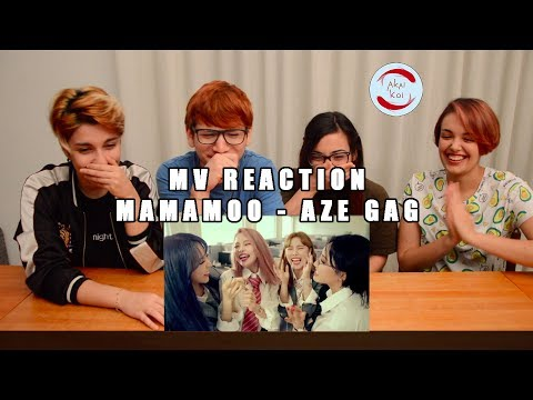 Thumbnail: MAMAMOO - AZE GAG | MV Reaction by AkaiKoi
