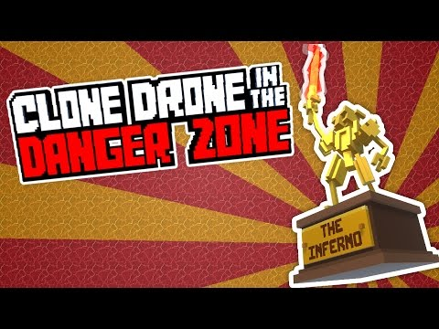 Unlocking Flame Breath and Inferno Challenge! - Clone Drone in the Danger Zone Gameplay