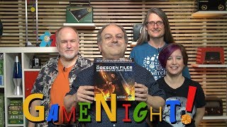 The Dresden Files Cooperative Card Game - GameNight! Se5 Ep10